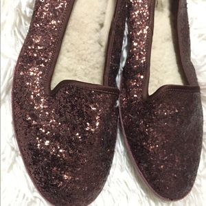UGG Alloway sequined flats size 9 EUC